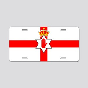 Northern Ireland Boxing Aluminum License Plate