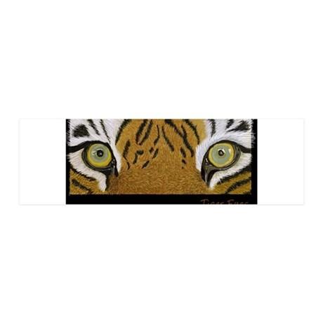 Tiger Eyes 20x6 Wall Decal