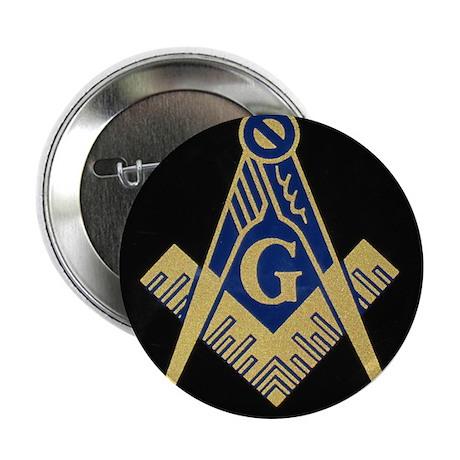 """Blue Lodge S&C 2.25"""" Button"""