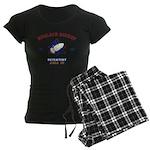 NUCLEAR ROCKET SCIENTIST Women's Dark Pajamas