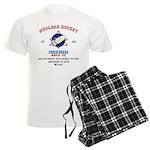 NUCLEAR ROCKET SCIENTIST Men's Light Pajamas