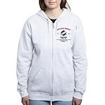 NUCLEAR ROCKET SCIENTIST Women's Zip Hoodie