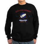 NUCLEAR ROCKET SCIENTIST Sweatshirt (dark)