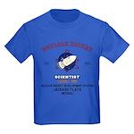 NUCLEAR ROCKET SCIENTIST Kids Dark T-Shirt