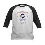 NUCLEAR ROCKET SCIENTIST Kids Baseball Jersey