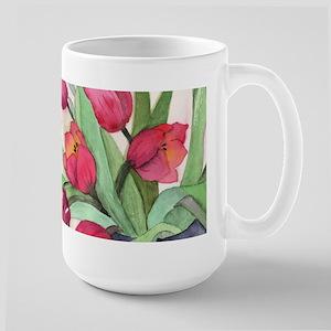 Tulips Large Mug