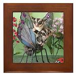 Butterfly #2 Framed Tile