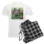 Butterfly #2 Men's Light Pajamas