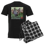 Butterfly #2 Men's Dark Pajamas