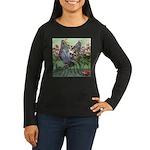 Butterfly #2 Women's Long Sleeve Dark T-Shirt