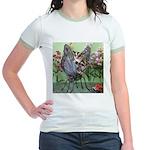 Butterfly #2 Jr. Ringer T-Shirt