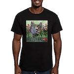 Butterfly #2 Men's Fitted T-Shirt (dark)