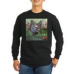 Butterfly #2 Long Sleeve Dark T-Shirt