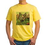 Butterfly #2 Yellow T-Shirt