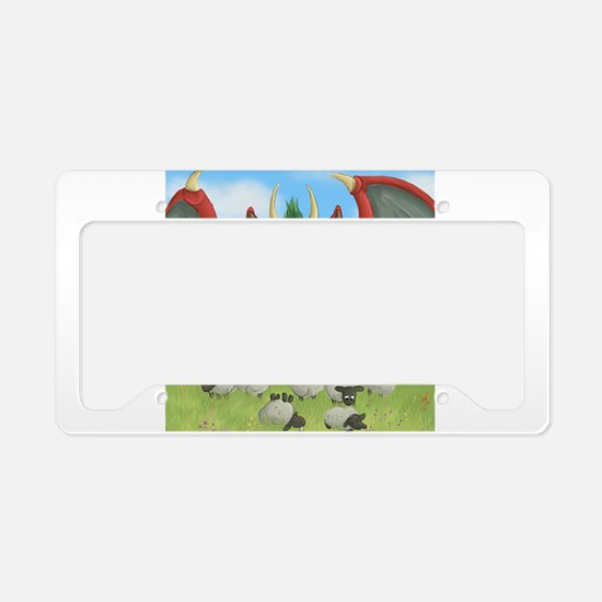 Cute Cartoon sheep License Plate Holder