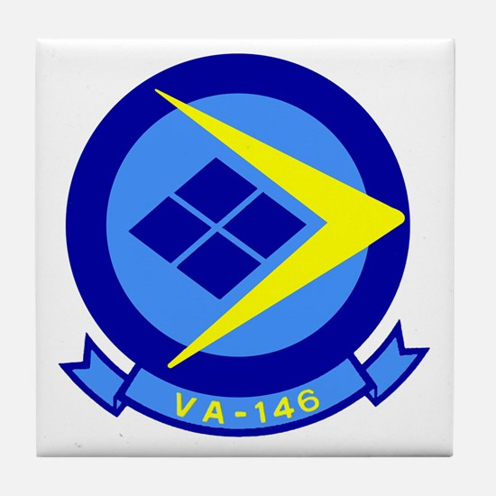 VFA 146 Blue Diamonds Tile Coaster