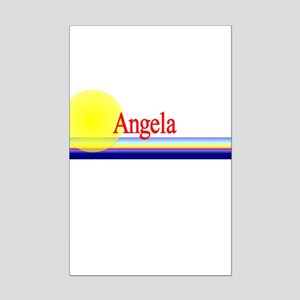 Angela Mini Poster Print