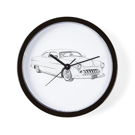 1950 Ford Custom Wall Clock