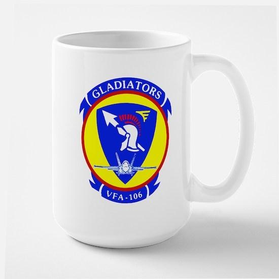 VFA 106 Gladiators Large Mug