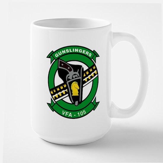 VFA 105 Gunslingers Large Mug