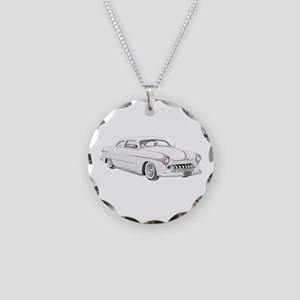 1950 Ford Custom Necklace Circle Charm