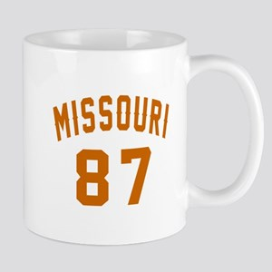 Missouri 87 Birthday Designs 11 oz Ceramic Mug