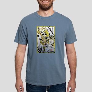 Tiger, Asian, wildlife art! Mens Comfort Colors Sh
