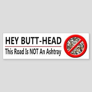 Hey Butt Head - Sticker (Bumper)