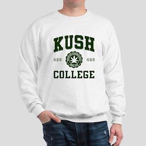 KUSH COLLEGE-2 Sweatshirt