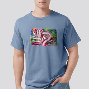 Flamingo, colorful, fun, art! Mens Comfort Colors