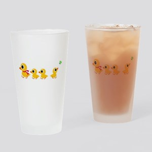 The distracted Duck Drinking Glass