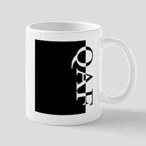 QAF Typography Mug