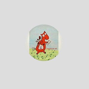 Horse Mailman Mini Button