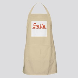 Smile if you like what you se BBQ Apron