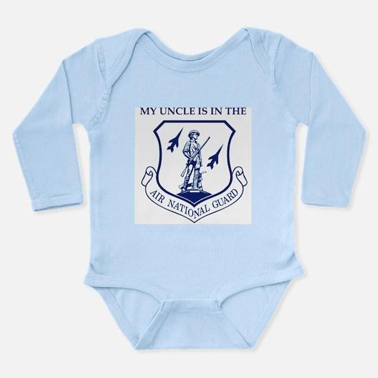 Cute Usafr Long Sleeve Infant Bodysuit