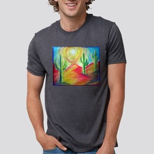 Desert, Southwest art! Mens Tri-blend T-Shirt