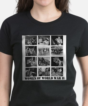 Women of WWII Ash Grey T-Shirt