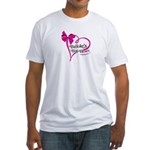 Brooke's Big Heart Fitted T-Shirt