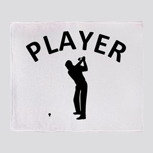 Golf Player Throw Blanket