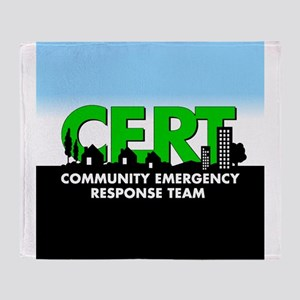 Cert Shock Treatment Throw Blanket