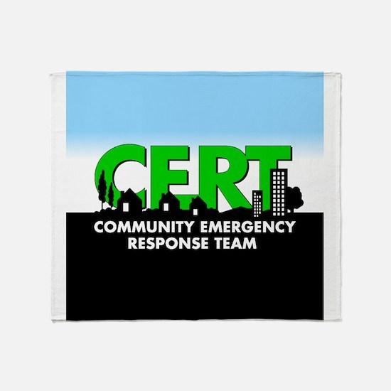 Cert Shock Treatment Throw Blanket
