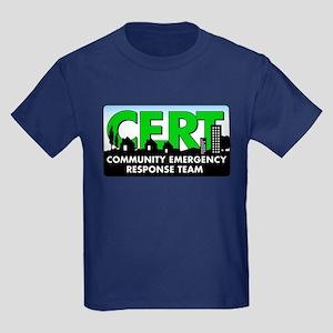 Cert Kids Dark T-Shirt