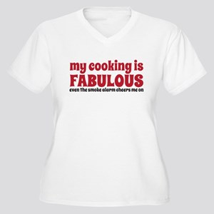 my cooking Women's Plus Size V-Neck T-Shirt