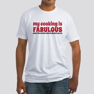 my cooking Fitted T-Shirt