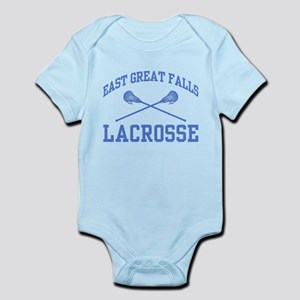East Great Falls Lacrosse Infant Bodysuit