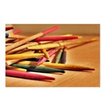 2-4-6 Pick Up Sticks Postcards (Package of 8)