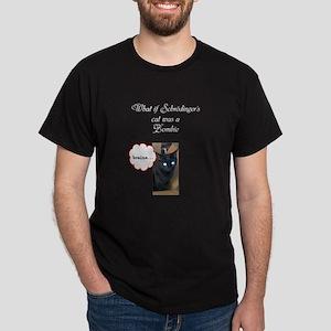 shrodinger cat Dark T-Shirt