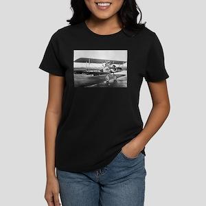 Weimaraner Sopwith Camel Women's Dark T-Shirt
