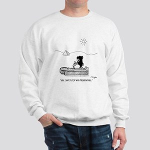 I Hate Food With Preservatives Sweatshirt