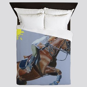 Hunter/Jumper Equestrian Hors Queen Duvet